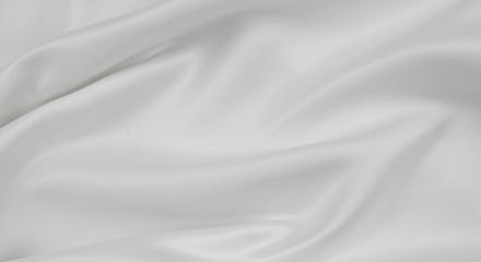 Stores à enrouleur Tissu White silk fabric lines
