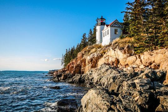 The Bass Harbor Head Lighthouse in Maine