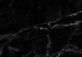 black marble texture pattern or abstract black background