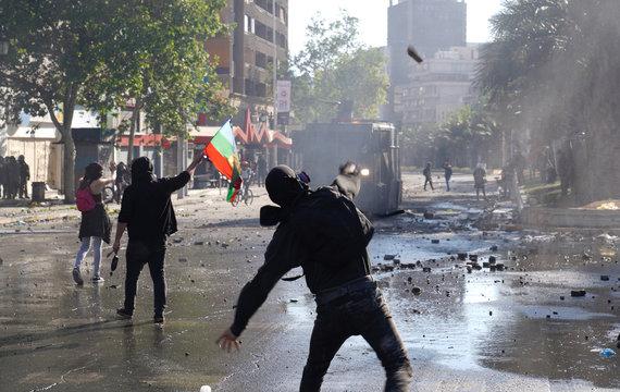 Social unrest in Chile DSC01619
