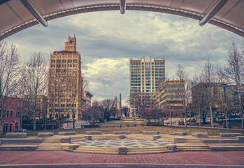 The Jackson Building in downtown Asheville, North Carolina,USA. Fotobehang