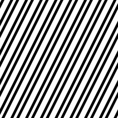 Seamless pattern with oblique black lines