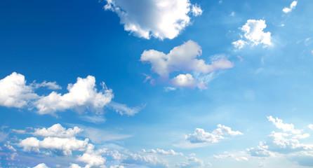 blue sky and clouds sky