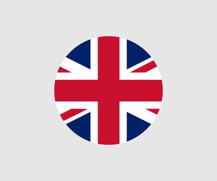 United Kingdom Flag. Official flag of United Kingdom. Vector illustration.