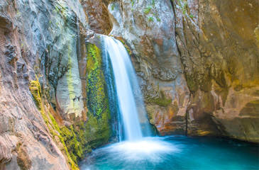 Sapadere canyon and waterfall - Alanya, Turkey