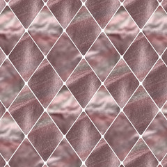 rose gold rhombus pattern