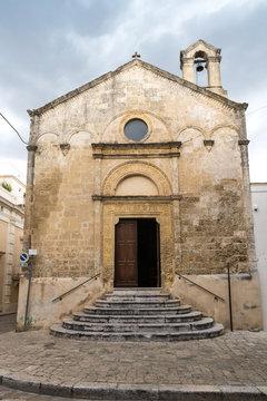 Chiesa della Madonna delle Grazie già Santa Maria in Platea  Montescaglioso (Matera)
