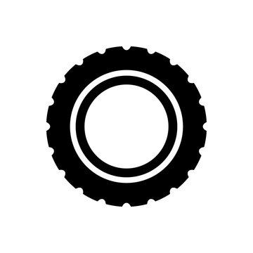 wheel - car wheel icon vector design template