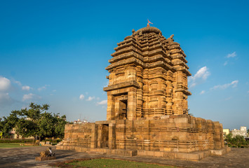 View at the Bhaskaraswar Temple in Bhubaneswar  - Odisha, India