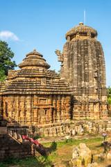 View at the Suka Sari Temple in Bhubaneswar  - Odisha, India