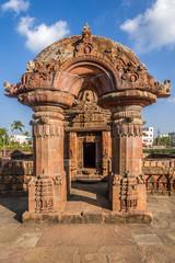 View at the Gate to Mukteshvara Temple in Bhubaneswar  - Odisha, India
