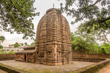 View at the Parsurameswara Temple in Bhubaneswar  - Odisha, India