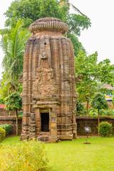 View at the Chitrakarini Temple in Bhubaneswar  - Odisha, India