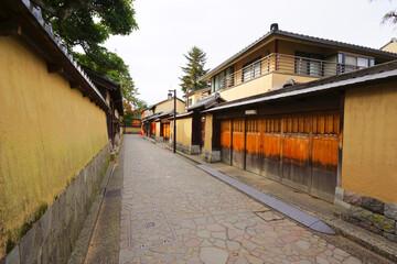Nagamachi Samurai District, Kanazawa City, Ishikawa Pref., Japan