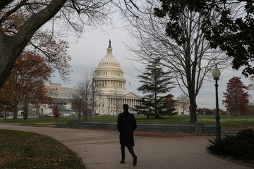 The U.S. Capitol building is seen on Capitol Hill in Washington