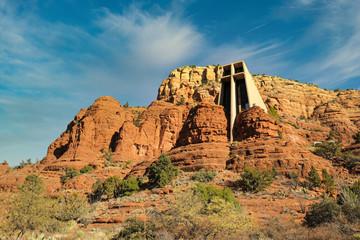 Chapel of the Holy Cross in Sedona Arizona a Roman Catholic Church