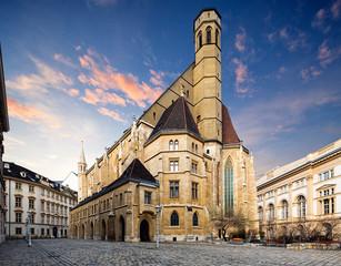 Wall Mural - Minoritenkirche in Vienna, Austria