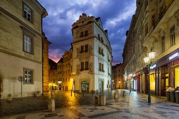 Wall Mural - architecture of Prague, Czech republic.