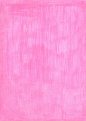 bright hindi pink rectangle sheet of paper colored with pencil.