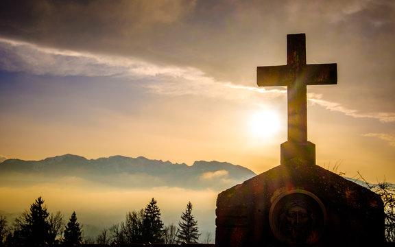 old cross
