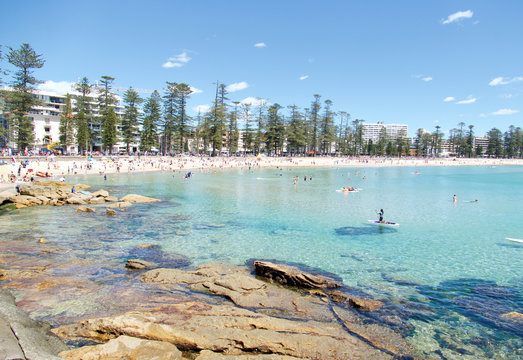 Shelly Beach and Manly Beach, Sydney, New South Wales, Australia, Australasia