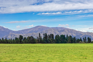Neuseeland Südinsel - Canterbury Region