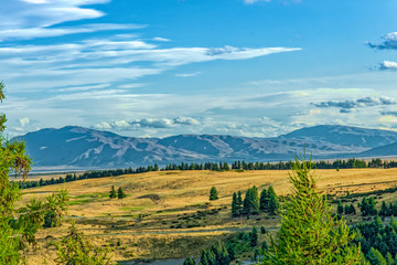 Neuseeland Südinsel - Mackenzie Hochebene am Lake Tekapo