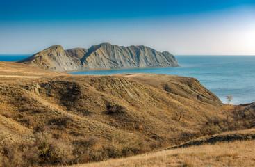 Cape Chameleon, Koktebel Bay, Black Sea, Crimea