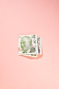 Banknotes, studio shot