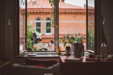 View of windowsill