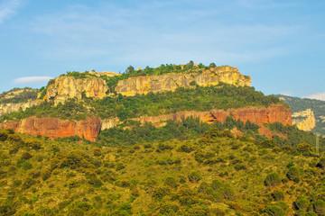 Landschaft nahe Siurana in Katalonien, Spanien - landscape near village Siurana in Catalonia mountains