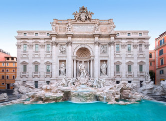 Trevi Fountain, the façade Wall mural