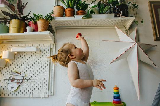 Toddler imagination