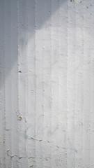 White concrete wall pattern