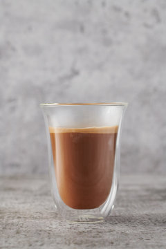 Making Cappuccino Coffee