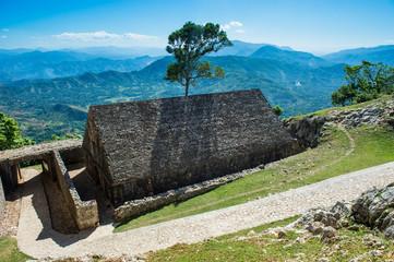 Beautiful mountains around Citadelle Laferriere, Cap Haitien, Haiti, Caribbean