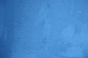 Designed painted abstact background.  Classic blue color of the year 2020.