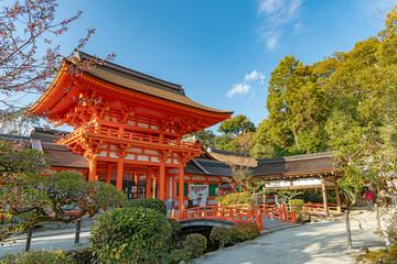 Foto op Aluminium Kyoto 京都 上賀茂神社 楼門
