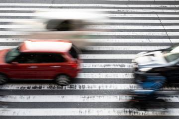 交通・自動車・横断歩道