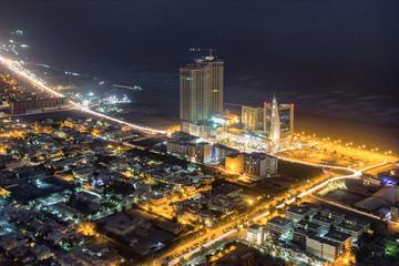city at night Fototapete