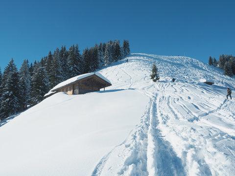 Hörnle im Winter - Bayerische Alpen