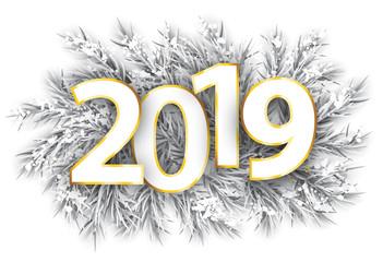 Frozen Twigs Snow Golden 2019