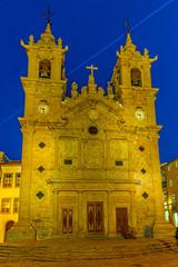 Holy Cross church in Braga, Portugal