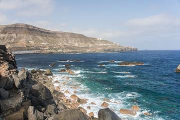 Blick vom Mirador El Atlante auf die Nordküste von Gran Canaria.