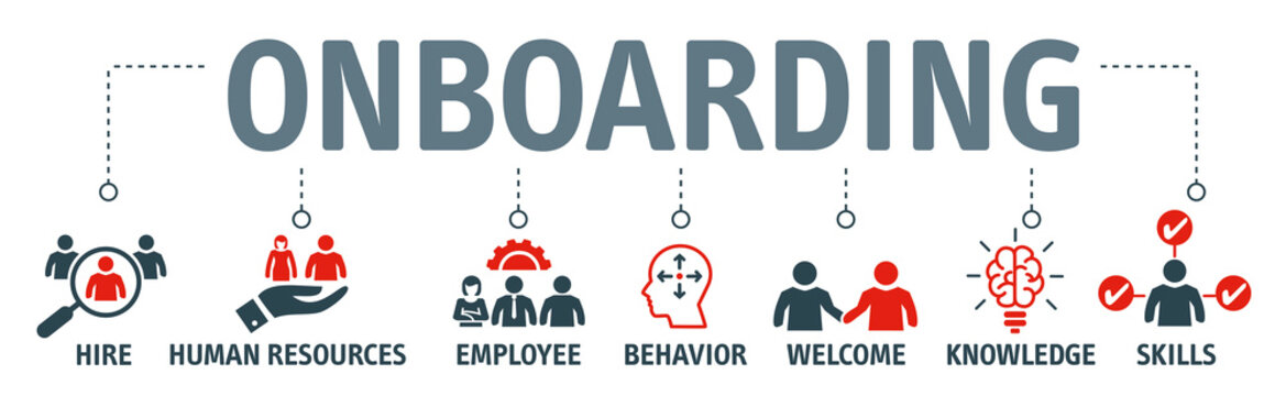 Onboarding process vector Illustration concept