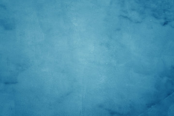 l blue grunge texture cement or concrete wall banner, blank  studio background