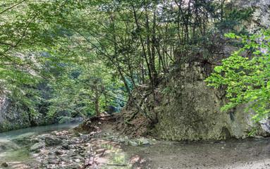 Source Paniya, Grand Crimean Canyon, Crimean peninsula, Bakhchisaray district, Sokolinoe village