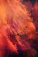 beautiful fantasy clouds backgroud