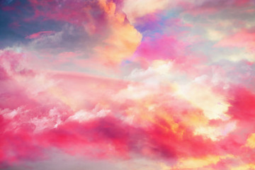 beautiful colorful cloudsscape background