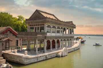 stone boat Beijing.
